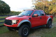 2010 Ford F-150 SVT Raptor 6.2L V8 Flex-fuel Super Cab