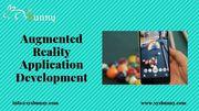 Augmented Reality Development Company   AR App Developers