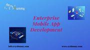 Enterprise Mobile App Development   Enterprise App Development Service