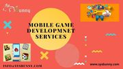 Mobile Game Development Company | Android Game Development