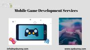 Mobile Game Development Company in USA SysBunny