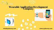 Wearable App Development Company | Wearable App Developers