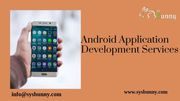 Android Application Development Company | Android App Services