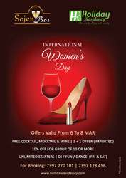 Sojen Bar Makes You The Seamless Feel In This Women's Day…!!